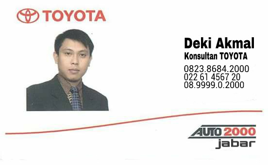 Harga Toyota Bandung Jawa Barat Terbaru
