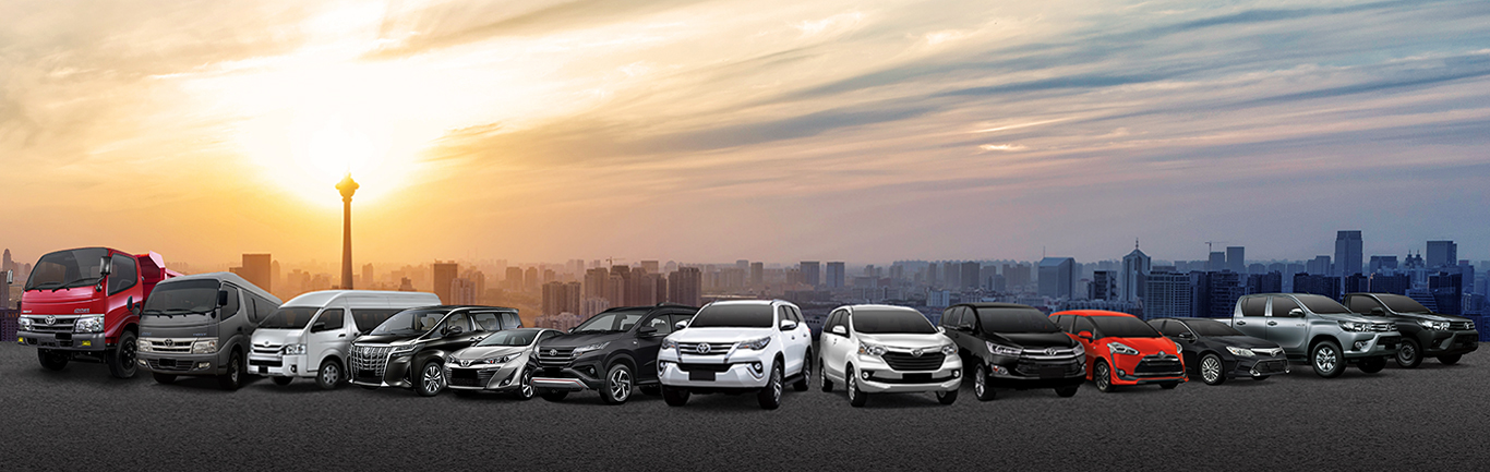 line up toyota